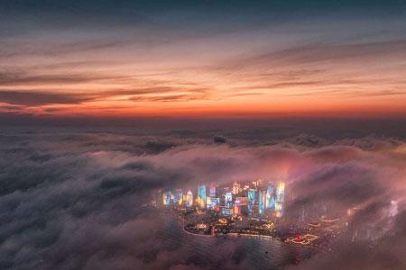 عکسهای جالب,عکسهای جذاب,آسمان خراش