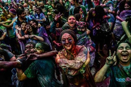 عکسهای جالب,عکسهای جذاب,جشنواره رنگ