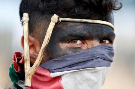 عکسهای جالب,عکسهای جذاب , مبارز فلسطینی