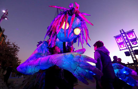 عکسهای جالب,عکسهای جذاب,جشنواره نور