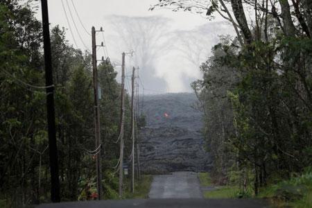 عکسهاي جالب,عکسهاي جذاب , گدازه هاي آتشفشان هاوايي