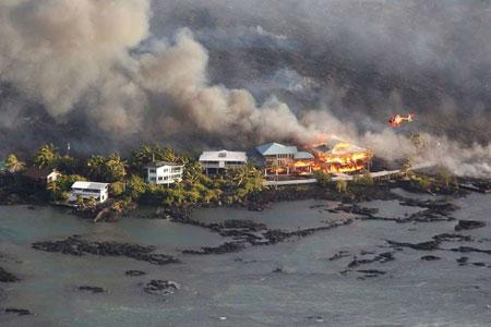 عکسهاي جالب,عکسهاي جذاب ,فوران آتشفشان