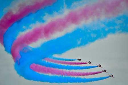 عکسهای جالب,عکسهای جذاب ,جشنواره هوایی