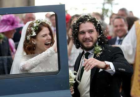 عکسهاي جالب,عکسهاي جذاب, عروسي دو هنرپيشه
