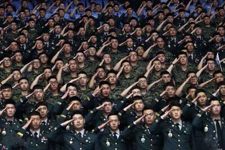 عکسهاي جالب,عکسهاي جذاب,ارتش کره جنوبي