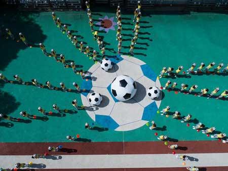 عکسهای جالب,عکسهای جذاب,تمرین فوتبال