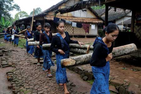 عکسهای جالب,عکسهای جذاب,روستای اندونزی