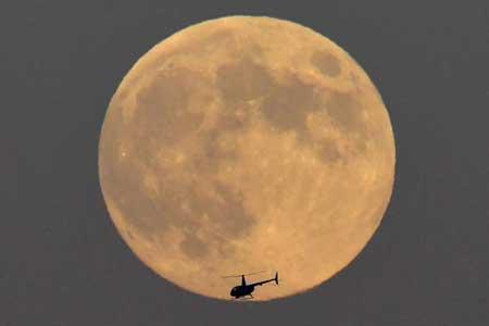 عکسهاي جالب,عکسهاي جذاب, ماه کامل