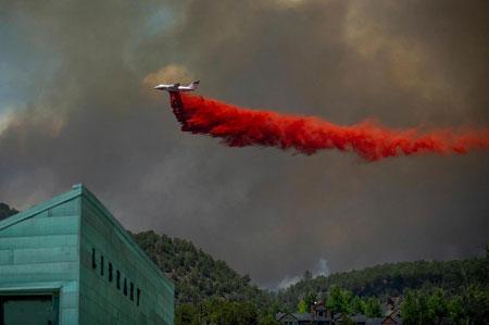 عکسهاي جالب,عکسهاي جذاب,هواپيماي آتش نشان