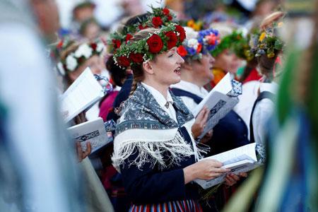 عکسهاي جالب,عکسهاي جذاب, جشنواره موسيقي و رقص