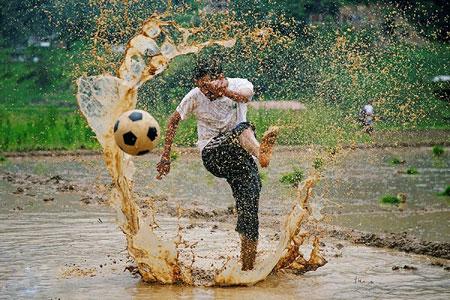 عکسهای جالب,عکسهای جذاب,فوتبال سنتی