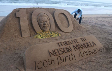 عکسهای جالب,عکسهای جذاب,نلسون ماندلا