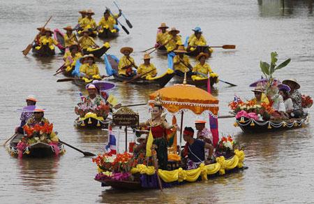 عکسهای جالب,عکسهای جذاب , جشنواره آیینی بودایی