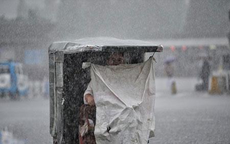 عکسهای جالب,عکسهای جذاب,باران شدید