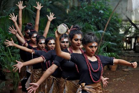 عکسهای جالب,عکسهای جذاب,ختران هندو