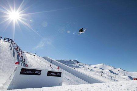 عکسهای جالب,عکسهای جذاب,مسابقه اسکی