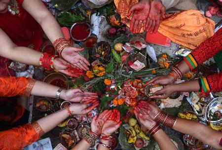 عکسهای جالب,عکسهای جذاب,زنان هندو
