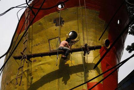عکسهای جالب,عکسهای جذاب,کشتی سازی