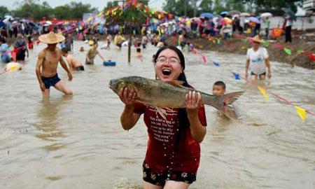 عکسهای جالب,عکسهای جذاب, جشنواره ماهیگیری