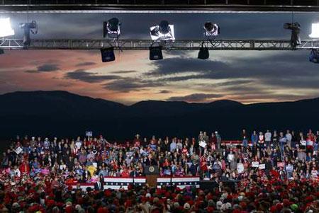 عکسهای جالب,عکسهای جذاب,سخنرانی ترامپ
