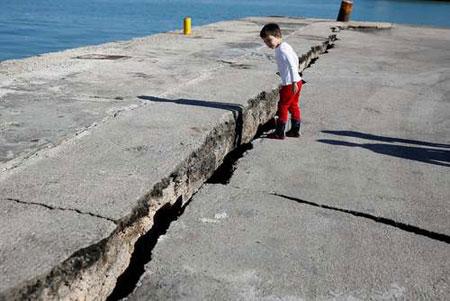 عکسهای جالب,عکسهای جذاب , زلزله