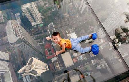 عکسهای جالب,عکسهای جذاب, پل هوایی شیشه ای