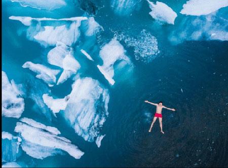 عکسهای جالب,عکسهای جذاب,یخ های قطبی