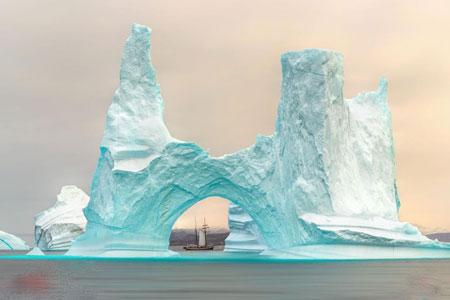 عکسهای جالب,عکسهای جذاب,یخچالهای قطبی