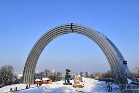 عکسهای جالب,عکسهای جذاب, طاق دوستی روسیه و اوکراین