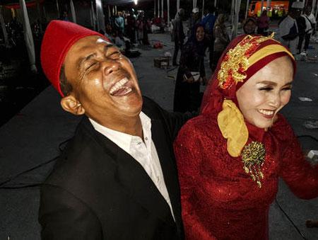 عکسهای جالب,عکسهای جذاب,مراسم ازدواج