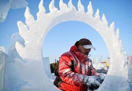 عکسهای جالب,عکسهای جذاب,سازههای برفی