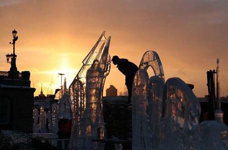 عکسهای جالب,عکسهای جذاب,سازههای یخی