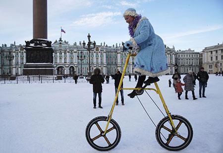 عکسهای جالب,عکسهای جذاب,دوچرخه بزرگ