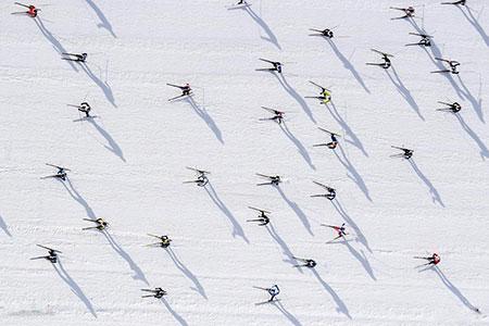 عکسهای جالب,عکسهای جذاب,اسکی بازان