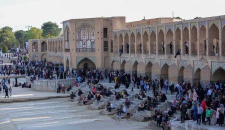 ۶ میلیون مسافر نوروزی از جاذبههای گردشگری استان اصفهان بازدید کردند