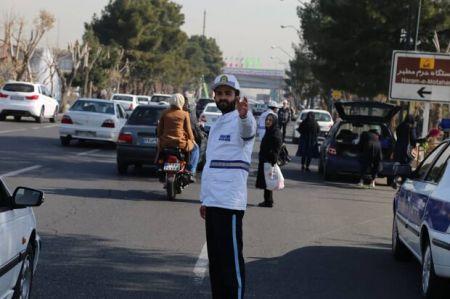 توضیح پلیس در مورد کلیپ منتشرشده از مامور راهور در بلوار میرداماد