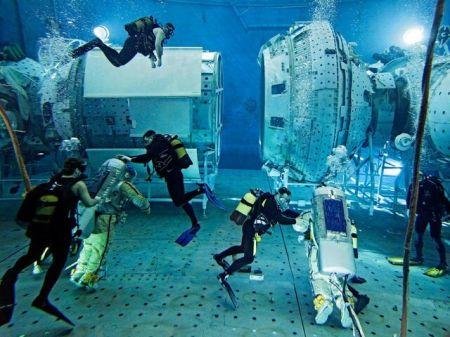 اخبار علمی ,خبرهای علمی,استخر تمرین کار در فضا