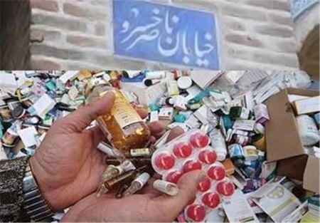 اخبار,اخبار پزشکی,فروش دارو در خیابان ناصر خسرو