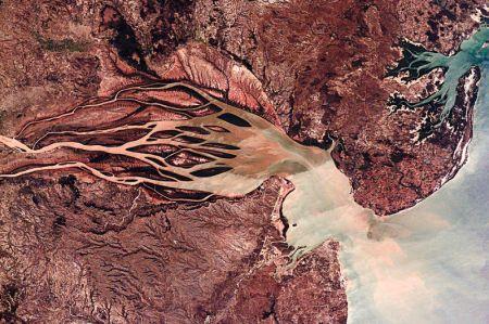 اخبار,اخبار علمی,رودخانه خونین از فضا