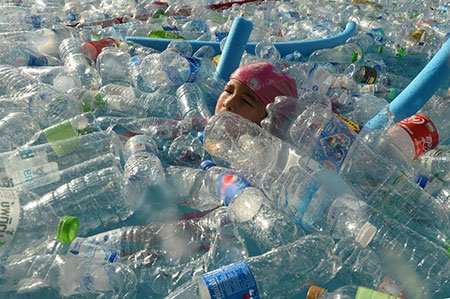 عکسهاي جالب,عکسهاي جذاب, بطري هاي پلاستيکي