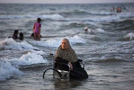 عکسهای جالب,عکسهای جذاب,زن فلسطینی