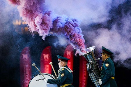 عکسهای جالب,عکسهای جذاب ,ارکستر نظامی