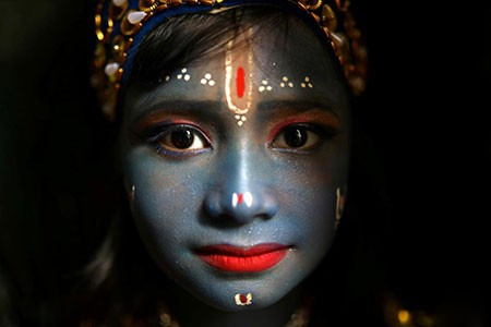 عکسهای جالب,عکسهای جذاب,کودک هندو