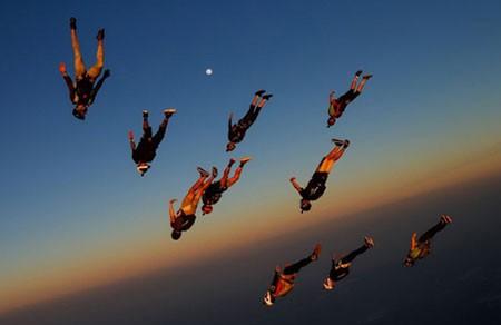 عکسهای جالب,عکسهای جذاب , پرش از ارتفاع