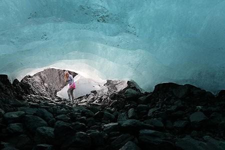 عکسهای جالب,عکسهای جذاب, غار یخی