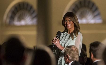 عکسهای جالب,عکسهای جذاب,ملانیا ترامپ