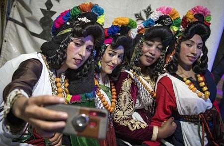 عکسهای جالب,عکسهای جذاب,زنان آمازیغی