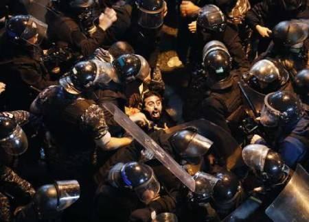 عکسهای جالب,عکسهای جذاب,معترضان لبنانی
