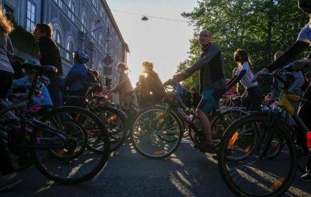 اخبار,اخبار بین الملل,تظاهرات با دوچرخه علیه دولت در اسلوونی