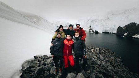 اخبار,اخبار گوناگون,اولین مرد آهنین قطب جنوب